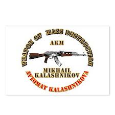 Weapon of Mass Destruction - AKM Postcards (Packag