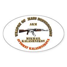 Weapon of Mass Destruction - AKM Decal