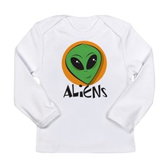 Aliens Long Sleeve Infant T-Shirt