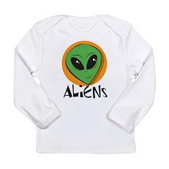 Aliens Long Sleeve Infant T-Shirt