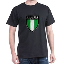 Nigeria Flag Patch T-Shirt