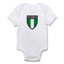 Nigeria Flag Patch Infant Bodysuit