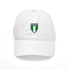 Nigeria Flag Patch Baseball Cap