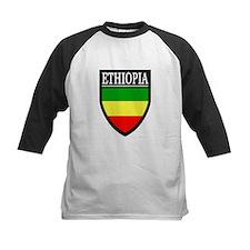 Ethiopia Flag Patch Tee