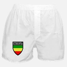 Ethiopia Flag Patch Boxer Shorts