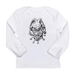 Halloween Clown Long Sleeve Infant T-Shirt