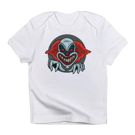 Scary Clown Infant T-Shirt