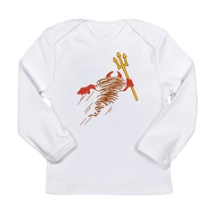 Devil Long Sleeve Infant T-Shirt