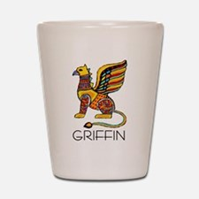 Colorful Griffin Shot Glass