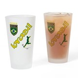Brazil soccer Pint Glasses
