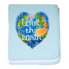 Love the Earth baby blanket