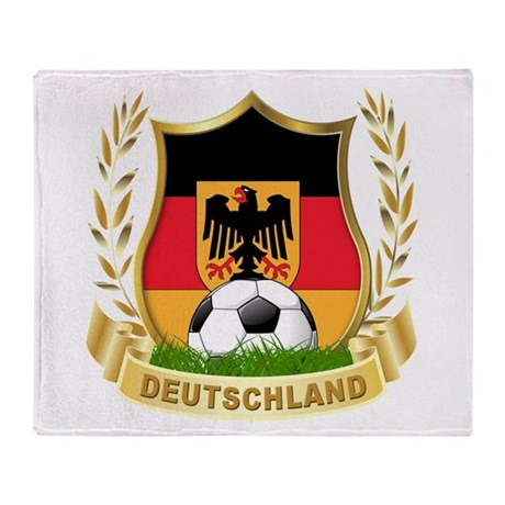 Germany Throw Blanket