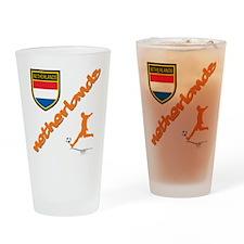 NETHERLANDS SOCCER Pint Glass