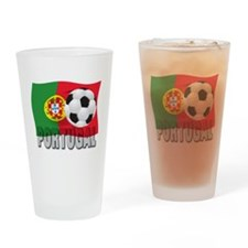 Portugal soccer Pint Glass