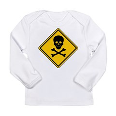 Pirate Sign Long Sleeve Infant T-Shirt