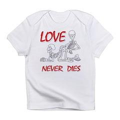 Skeleton Love Never Dies Infant T-Shirt