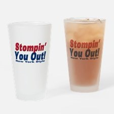 NY GIANTS Stompin you out Pint Glass