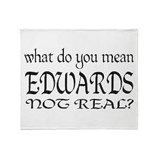 edward Cullen t-shirts Throw Blanket