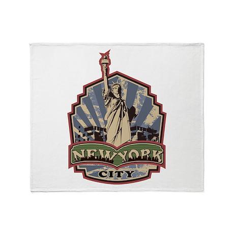 New York City Throw Blanket