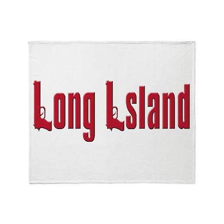 Long Island, New York Throw Blanket