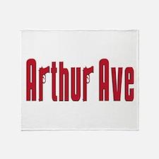Arthur ave Throw Blanket