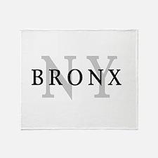 Bronx New York Throw Blanket