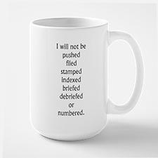 Be Seeing You Large Mug