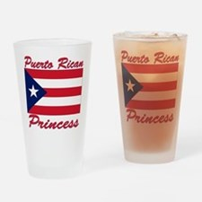 Puerto rican pride Pint Glass