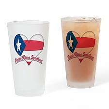 Puerto Rican Sweetheart Pint Glass