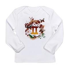 Psychedelic Gemini Long Sleeve Infant T-Shirt