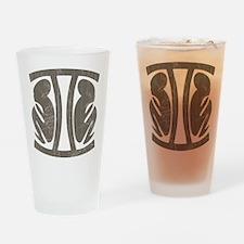 Vintage Gemini Pint Glass