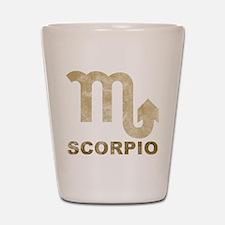 Vintage Scorpio Shot Glass