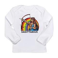 Rainbow Sagittarius Long Sleeve Infant T-Shirt