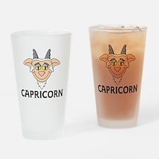 Capricorn Pint Glass