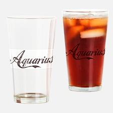 Vintage Aquarius Pint Glass