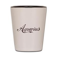 Vintage Aquarius Shot Glass