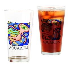 Aquarius Pint Glass