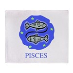 Pisces Throw Blanket
