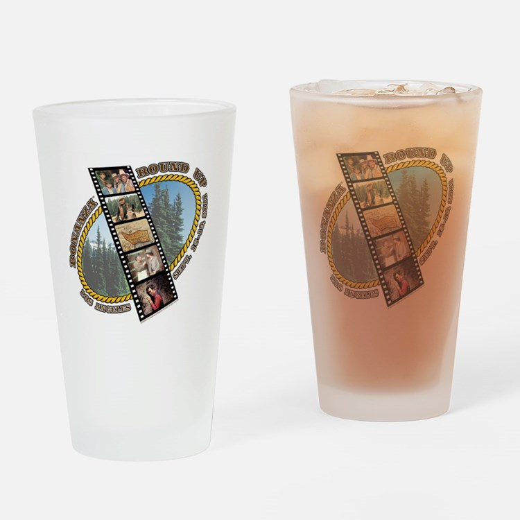 BONANZA ROUND UP Pint Glass