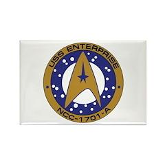 Enterprise 1701-A Rectangle Magnet (100 pack)