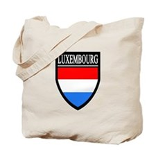 Luxembourg Patch Tote Bag