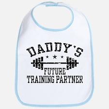 Daddy's Future Training Partner Bib