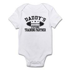 Daddy's Future Training Partner Infant Bodysuit