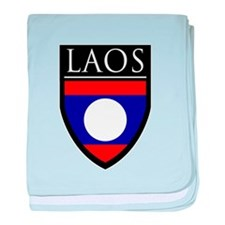Laos Patch baby blanket