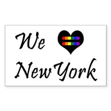 New York Pride Decal