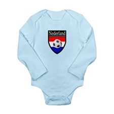Nederland Patch Long Sleeve Infant Bodysuit