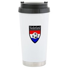Nederland Patch Travel Coffee Mug