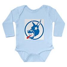 Donkey Long Sleeve Infant Bodysuit