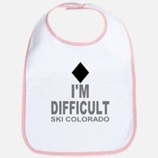 I'm Difficult Ski Colorado Bib