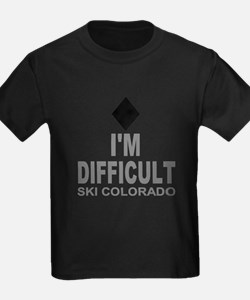 I'm Difficult Ski Colorado T